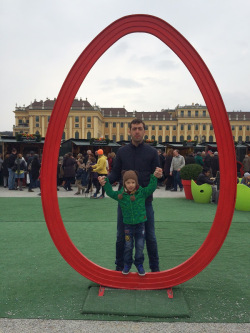 Travel with toddlers: De Paste in Viena