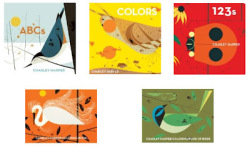Cool baby reads: Cartile Charley Harper