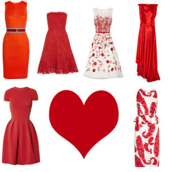 Red dresses for VDAY: The crazy expensive kind