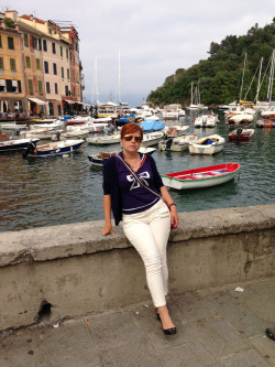 Outfit for a day in Portofino