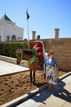 Outfits in Maroc: Plimbare in Chellah